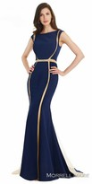 Morrell Maxie Two Tone Jersey Evening Dress