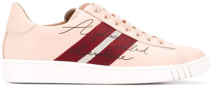 Bally stripe low-top sneakers