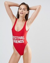Private Party Festival Friends Swimsuit