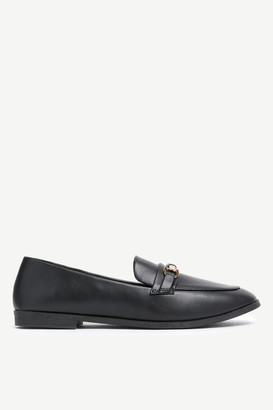 Ardene Faux Leather Loafer with Keeper