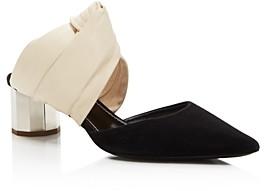 Proenza Schouler Women's Knotted Block Heel Mules