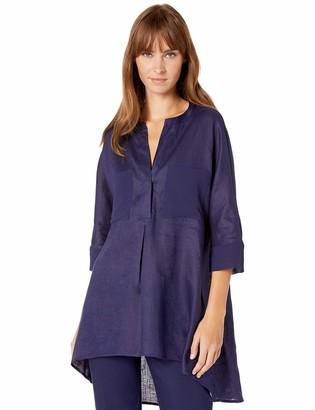 Anne Klein Women's Linen Tunic