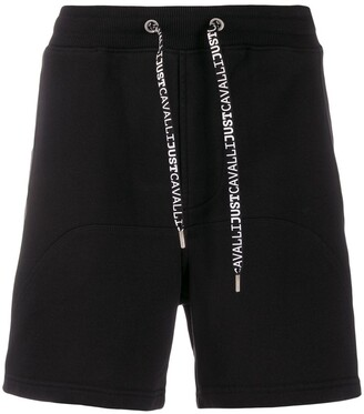 Just Cavalli Relaxed-Fit Drawstring Track Shorts