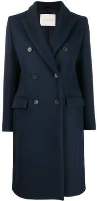 MACKINTOSH ALLOA Dark Navy Wool Chesterfield Coat | LM-1003F