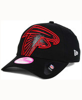 New Era Women's Atlanta Falcons Glitter Glam 2.0 9FORTY Cap