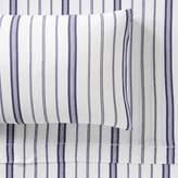 Pottery Barn Teen Hana Stripe Jersey Sheet Set, Full, Purple