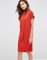Vila High Neck Oversized T-Shirt Dress