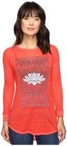 Lucky Brand Lotus Matchbox Tee Women's T Shirt