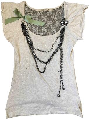 River Island Beige Cotton Top for Women
