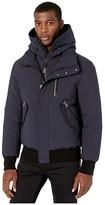 Mackage Dixon-NF Hooded Down Jacket (Navy) Men's Coat