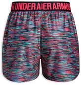 Under Armour Girls' Printed Shorts - Big Kid