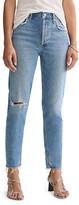 A Gold E Agolde Jamie High-Rise Jeans