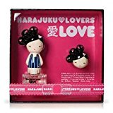 Gwen Stefani Harajuku Lovers Love Women Gift Set (Eau De Toilette Spray, Solid Perfume)