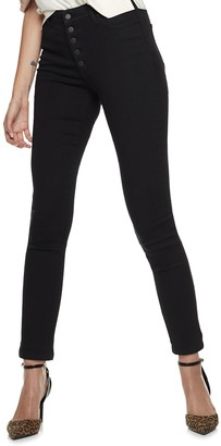 Nine West Women's Bedford High-Waisted Skinny Jeans