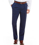 Hart Schaffner Marx Chicago Classic-Fit Pleated Checked Dress Pants
