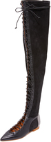 Malone Souliers Montana Over the Knee Flat Boots