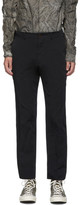 Comme Des Garcons Homme Deux Comme des Garcons Homme Deux Black Gabardine Trousers