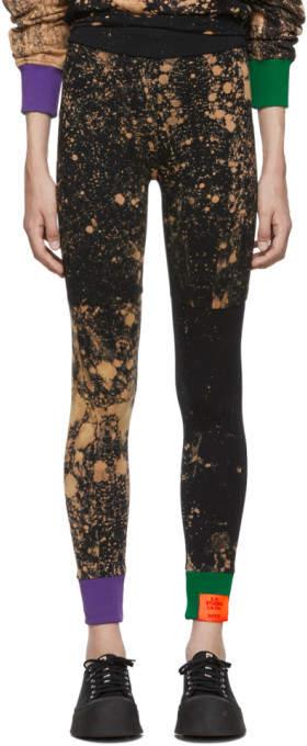 77e46e1c826933 Black Ribbed Leggings Black - ShopStyle
