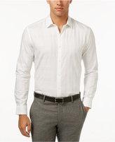 Alfani Men's Classic Fit Tonal Plaid Shirt, Only at Macy's