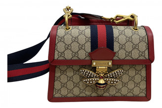 Gucci Queen Margaret Red Cloth Handbags