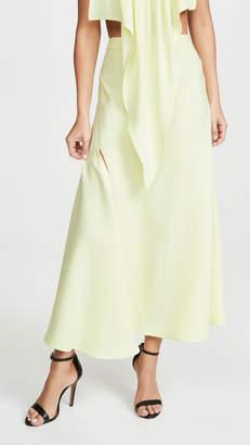 Ellery High Slit Skirt