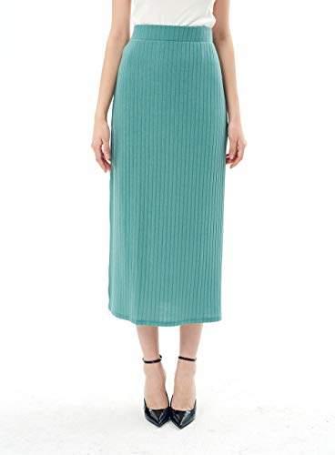 d7f6426124 Elastic Waist Skirt Mid Length - ShopStyle