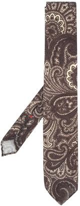 Dell'oglio Paisley-Print Tie