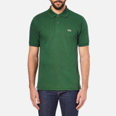 Lacoste Men's Short Sleeve Pique Polo Shirt Chlorophyll