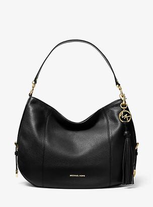 Michael Kors Brooke Large Pebbled Leather Shoulder Bag