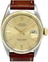 Rolex Datejust 36mm Gold gold and steel Watches