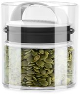 Prepara Evak Fresh Saver Metropolitan 0.5 qt. Storage Canister in White/Black