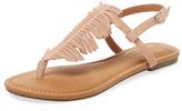 Corso Como Cheryl Fringe Leather Sandal