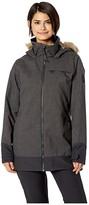 Burton Lelah Jacket (True Black Heather/True Black) Women's Coat