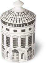Fornasetti Architettura Scented Candle, 300g - White