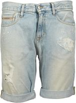 Calvin Klein Jeans Distressed Shorts