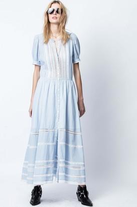 Zadig & Voltaire Regard Cotton Raye Dress
