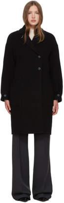 3.1 Phillip Lim Black Merino Series Oversized Coat