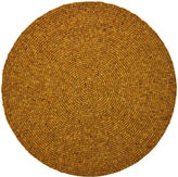 Leila's Linens Round Wood Bead Place Mats