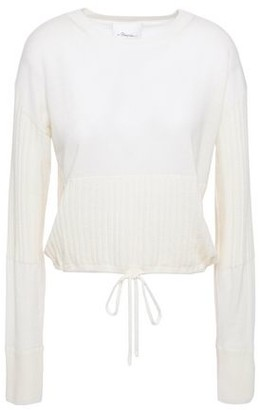 3.1 Phillip Lim Ribbed Cashmere-blend Sweater