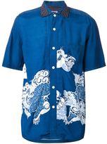 Comme des Garcons Junya Watanabe Man Japanese dragon print shirt