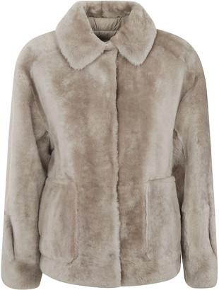 Brunello Cucinelli Two-side Patch Pocket Concealed Jacket