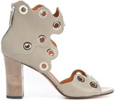 Derek Lam eyelets sandals - women - Calf Leather/Leather - 36