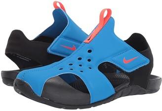 Nike Sunray Protect 2 (Little Kid) (Photo Blue/Bright Crimson/Black) Boys Shoes