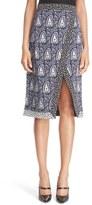 Altuzarra Women's 'Jude' Paisley Faux Wrap Skirt