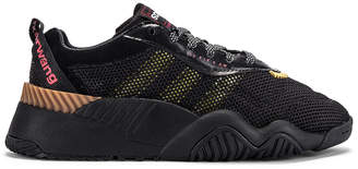 Alexander Wang Adidas By adidas by AW Turnout Trainer Sneaker in Core Black, Yellow & Light Brown | FWRD