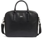 Ted Baker Men's Leather Document Bag - Black