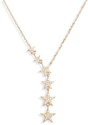Sterling Forever Star Y-Necklace