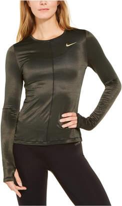 Nike Shine Miler Dri-fit Long-Sleeve Running Top