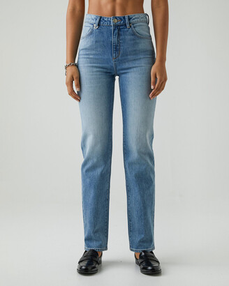Neuw Women's Blue Straight - Marilyn Straight - Size One Size, 25 at The Iconic