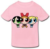 Stabe 2-6 Toddler Tee Age 2-6 Kids Toddler Powerpuff Girls Little Boys Girls T-Shirt